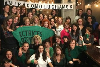 "Thelma Fardin en la conferencia de prensa de Actrices Argentinas: ""La defensa de Darthes quiere someternos al silencio"""