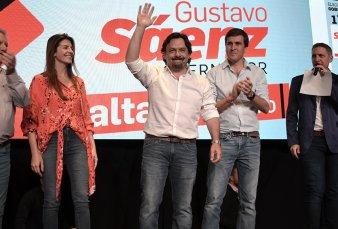 Gustavo Sáenz se adjudicó la elección y es el nuevo gobernador de Salta
