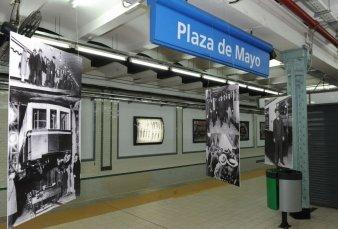Cierran la estación Plaza de Mayo del subte A por obras