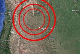 Se registró anoche un fuerte sismo en Mendoza