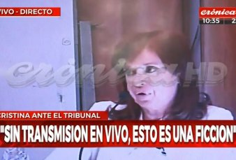 Causa Obra pública: declara Cristina Fernández de Kirchner