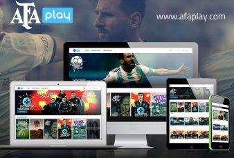 Con Messi y Diego como atractivos, la AFA lanzó su servicio de streaming