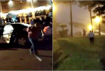 Misiones: presos escaparon de un patrullero en medio de una pelea