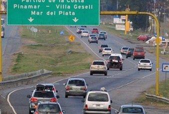 Viajar a la costa en auto este verano será 45% más caro