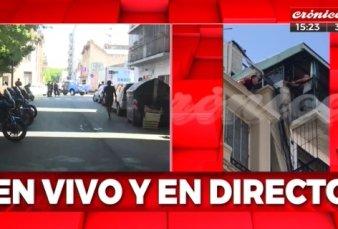 Espectacular toma de rehenes a cuadras de la Casa Rosada