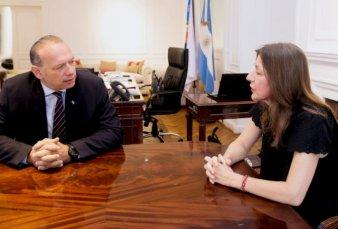 Frederic y Berni acordaron crear un comando unificado en provincia de Buenos Aires