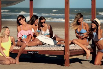 Pinamar, la nueva Punta del Este: eventos en la arena y paradores top