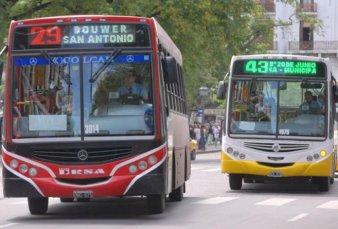 Córdoba un día sin transporte urbano