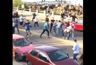 Batalla campal entre argentinos y uruguayos a la salida de un boliche