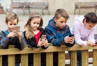 Los niños argentinos tienen su propio celular a los 9 años