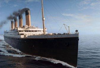 Un submarino chocó contra el Titanic