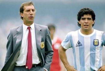 """""""Te bancaste todo, Carlos"""", el mensaje de Maradona a Bilardo en su día"""