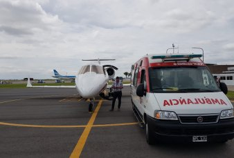 Cómo es el rescate aéreo de los infectados en el Chaco profundo