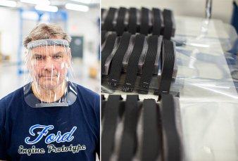 Ford producirá protectores faciales en su planta de Pacheco