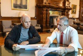 """Coronavirus: Larreta le presentó al Presidente su plan de """"protección"""" de adultos mayores"""