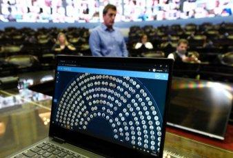 """Sesión virtual en Diputados: """"La tecnología llegó para quedarse"""""""