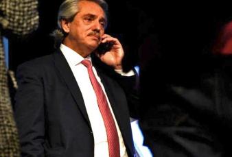 """Alberto Fernández: """"Lo consulté a Marcelo Gallardo para que me explique un poco cómo podría volver el fútbol"""""""