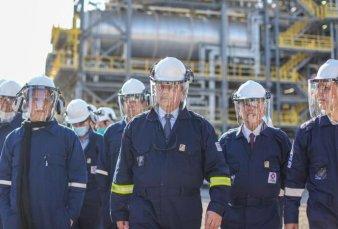 Axion inauguró una refinería de gasoil premium; no hará falta importar