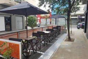 Bares y restaurantes piden a la Ciudad usar espacios públicos