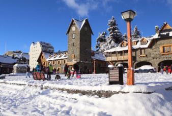 Bariloche: nevó en la ciudad y se aguarda una definición sobre la temporada de esquí