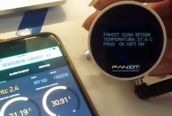 Misiones fabrica los primeros termómetros infrarrojos inteligentes