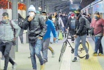 Aumentó 22% la cantidad de pasajeros en los trenes y no reforzaron los controles