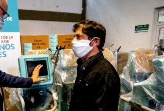 Kicillof anula una compra de respiradores y pide que la empresa le reintegre $124 millones