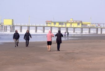 Atípicas vacaciones de invierno en la costa: no se permitirá el turismo