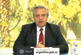 """Alberto Fernández: """"Tenemos que estar orgullosos de cómo enfrentamos la pandemia"""""""