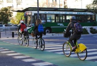 Récord absoluto de ciclistas en la Ciudad de Buenos Aires
