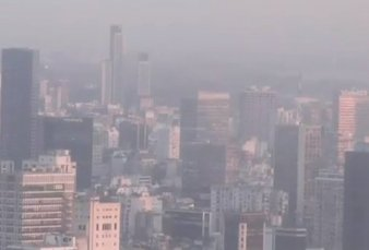 Arde el Delta y el humo se instaló en la Ciudad de Buenos Aires