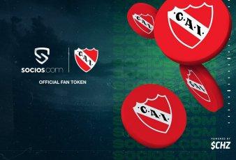 Independiente se convierte en el primer club de fútbol de Sudamérica en tener una moneda digital