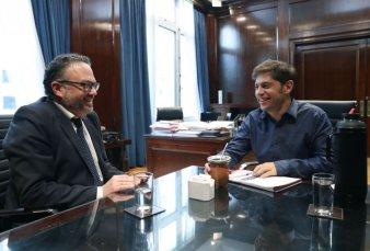 Kicillof cierra la ronda de reuniones para definir las medidas de reactivación
