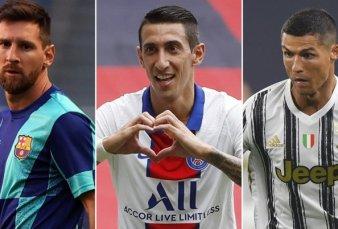 Messi versus Cristiano: Di María tuvo que elegir entre sus ex compañeros