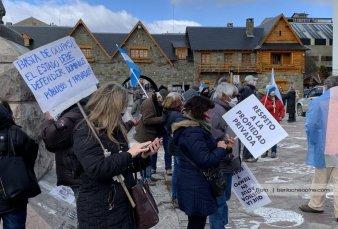En Bariloche hubo críticas por las tomas de tierras