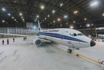 Aerolíneas Argentinas: 70° aniversario y avión retro