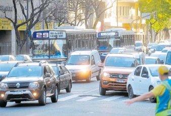 El tránsito en la Ciudad es un caos y en una semana hicieron 2.360 multas