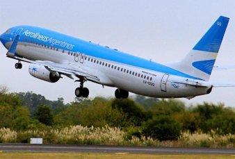 Aerolíneas Argentinas vuelve con sus vuelos regulares este jueves