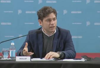 """Axel Kicillof: """"Con la cuestión sindical y de género ocurre como con la política en la provincia: viene de una cultura machista"""""""