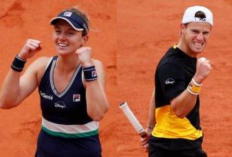 Podoroska y Schwartzman se metieron en el corazón de los argentinos con un Roland Garros superlativo