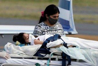 Preocupa la salud de Abigail: volverá a Santiago del Estero