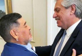 """Alberto Fernández: """"Diego era la Argentina en el mundo"""""""