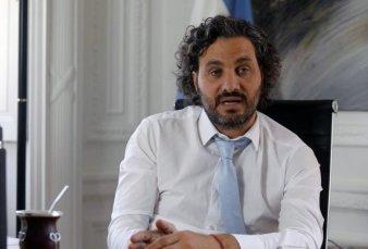 """Santiago Cafiero: """"El presidente está conforme con cómo viene trabajando el gabinete"""""""