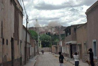 Un fuerte sismo sacudió a Salta y Jujuy, muy cerca de Humahuaca
