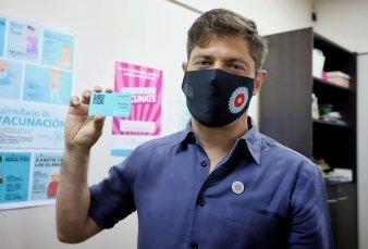 """Axel Kicillof: """"Que se vacune Alberto Fernández tiene que ver con la confianza, no hay nada detrás"""""""