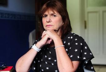 """Patricia Bullrich le respondió a Máximo Kirchner y lo acusó de """"poner al juez que cuida las urnas"""""""