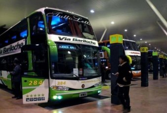 Con menos pasajeros y sin café ni mantas, vuelven los ómnibus de larga distancia