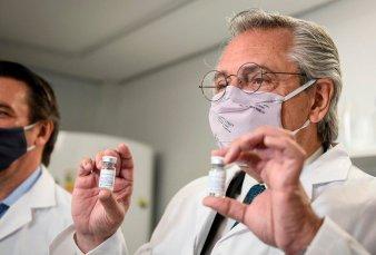 Fernández destacó el desarrollo argentino del suero hiperinmune para combatir el Covid-19