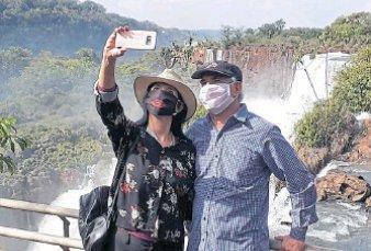 Iguazú estrena una temporada sin turistas extranjeros