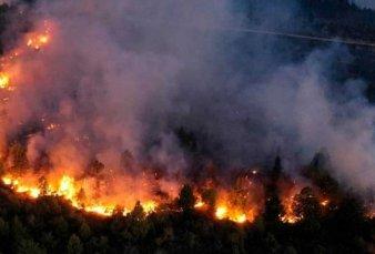 Avanza sin control el incendio en El Bolsón y ya consumió más de 7.000 hectáreas